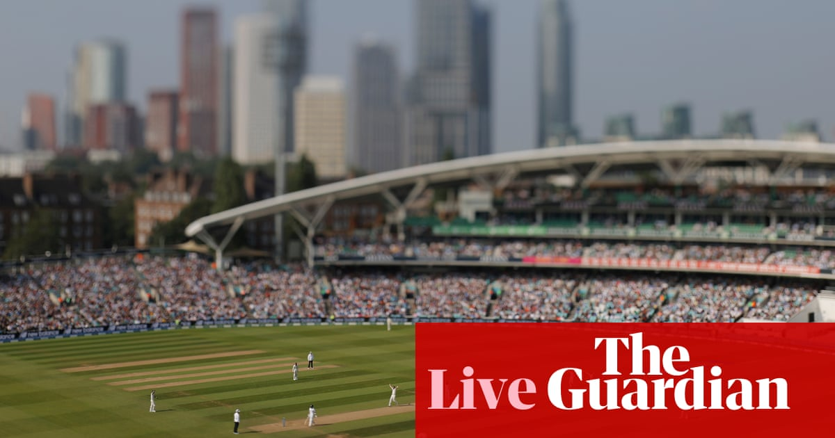 England v India: fourth Test, day five – live!