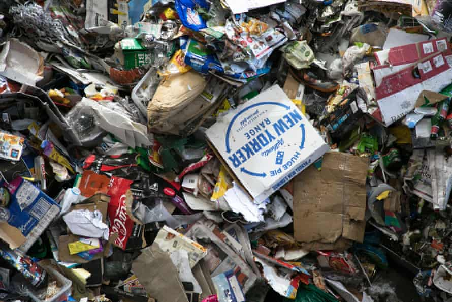 Paper and cardboard generally make up around 50% of the weight of an average household recycling bin.