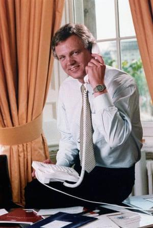 David Davis in 1995.