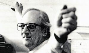 Derek Ingram in the 1980s.