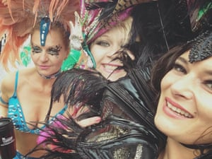 """<strong>Carnival Sunday 2015</strong><br>It has been the first time for my friend in London and she was very impressed of how nice the police was<br>Photograph: <a href=""""https://witness.theguardian.com/assignment/55deeea5e4b0778f0c23e764/1690441"""">Anna Genger/GuardianWitness</a>"""