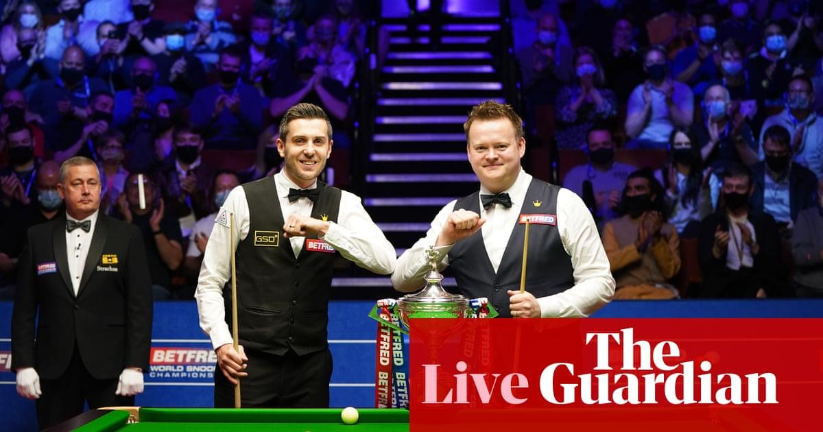 Mark Selby v Shaun Murphy: World Snooker Championship final – live!