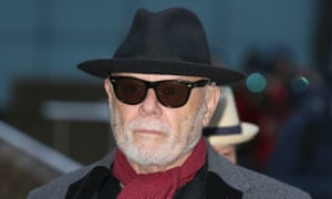 Gary Glitter attends the court of appeal