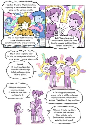 Understanding autism cartoon, part two