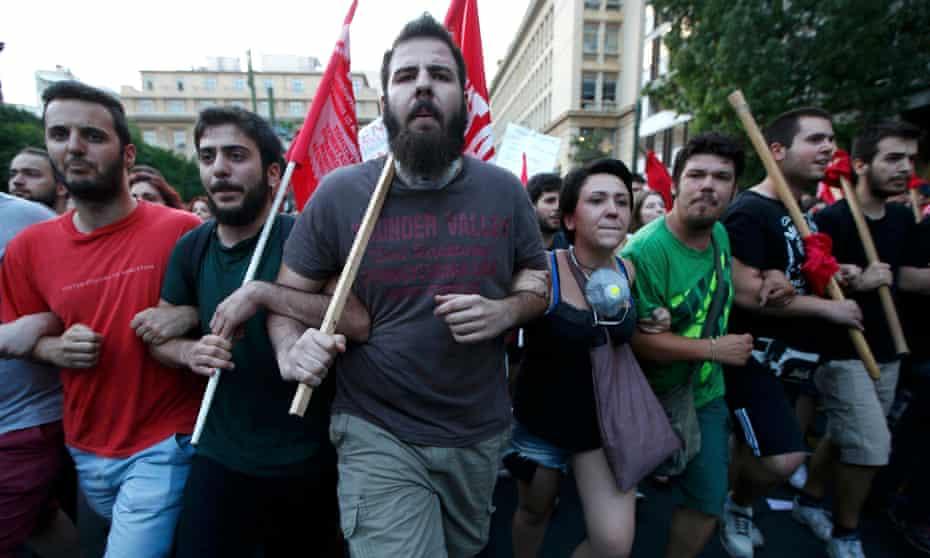 Athens rally