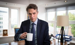 Education secretary Gavin Williamson in his office at the Department of Education in Westminster, London, following the announcement that A-level and GCSE results in England will now be based on teachers' assessments of their students, unless the grades produced by the controversial algorithm are higher.