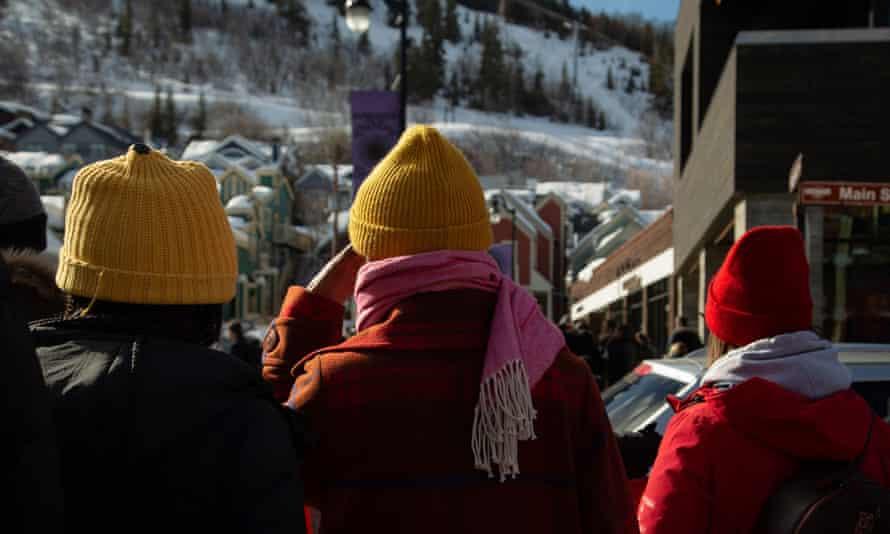 Park City, Utah, during the 2020 Sundance film festival.