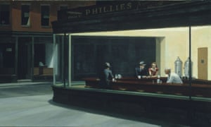 Edward Hopper's Nighthawks.