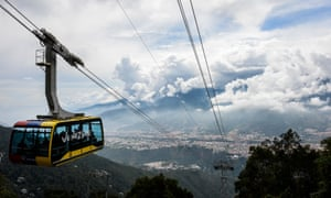 The Merida cable car system, reopened earlier this year in Venezuela.