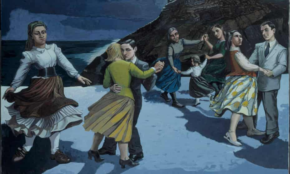 Towering talent … The Dance by Paula Rego.
