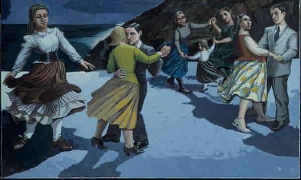 Paula Rego's The Dance 1988.