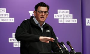Daniel Andrews fronts his 100th consecutive daily Covid briefing