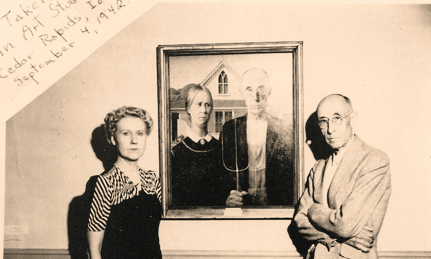 American Gothic A State Visit To Britain For The First Couple Painting The Guardian