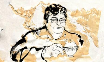John Burnside … Illustration by Alan Vest