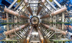 The Atlas particle detector at the Large Hadron Collider, Cern. Physicists had hoped that the 'blip' detected in two sets of data would reveal a new particle.