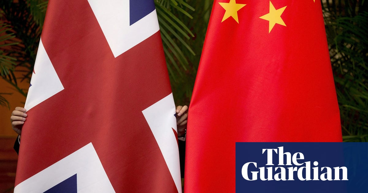 Ex-Foreign Office chief reveals Whitehall tussle over China policy
