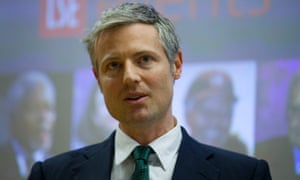 Zac Goldsmith at the London Chamber of Commerce hustings last month.