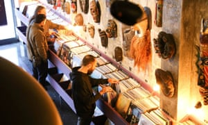 Underflow gallery and record shop, Athens