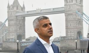 Sadiq Khan, mayor of London