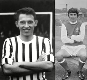 Graham Taylor as a player for Grimsby Town and Lincoln City