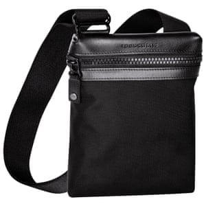 Bag, £105, by Longchamp.