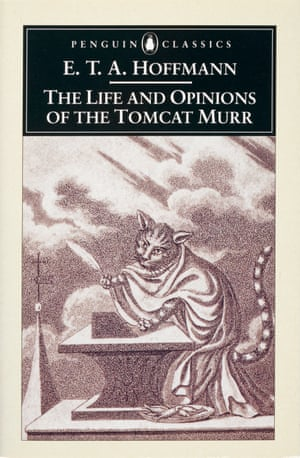ETA Hoffmann, The Life and Opinions of the Tomcat Murr, Penguin Classics covers