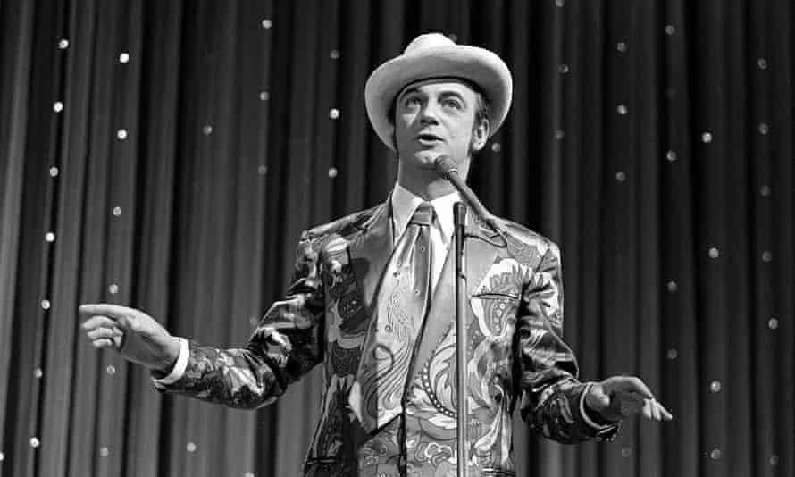 Roy Hudd performing at the London Palladium in 1974.