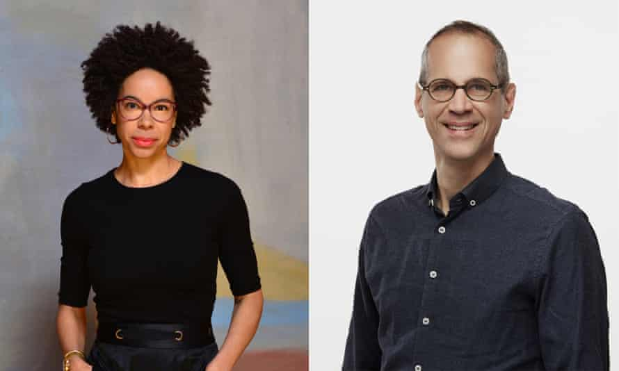 Ayana Elizabeth Johnson and Alex Blumberg, presenters of How to Save a Planet.