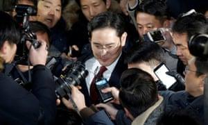 Samsung Electronics vice-chairman Jay Y Lee
