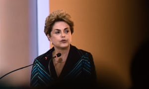 Brazil's president, Dilma Rousseff, is facing impeachment.