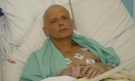 Former Russian agent Alexander Litvinenko.