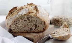 Handmade rustic bread sour dough