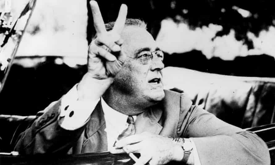 Franklin Delano Roosevelt spent America out of its depression.
