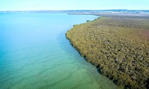 The Ramsar-listed wetlands bordering Crib Point, south-east of Melbourne