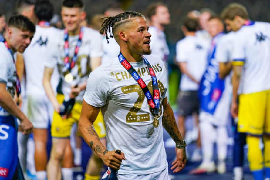 Kalvin Phillips's career has blossomed under Marcelo Bielsa and he made his England debut on Tuesday.