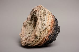 Untitled (ball clay and flux mixture), by Claudia Wassiczek