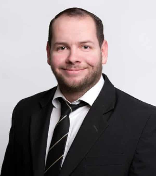 Stefan Jagsch, a NPD candidate in Hesse.