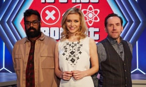 Romesh Ranganathan, Rachel Riley and Ben Miller present It's Not Rocket Science.