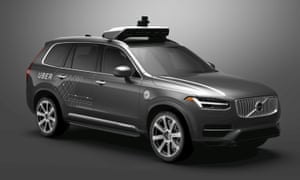 Uber's modified Volvo XC90 SUV detected but did not react to the crossing pedestrian in first self-driving car fatality, report says.