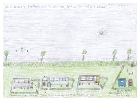 Garth England sketch