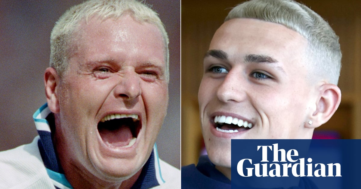 Phil Foden happy to be called the 'Stockport Gazza' after pre-Euros haircut