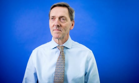 Professor Martin Marshall, the new chair of the Royal College of GPs: 'We're kind of sheep-dipping the population in statins, with a relatively small benefit.'