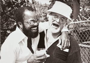 Barney Ales ( right) with Berry Gordy in Los Angeles, 1977 From the book Motown: the Sound of Young America published by Thames & Hudson
