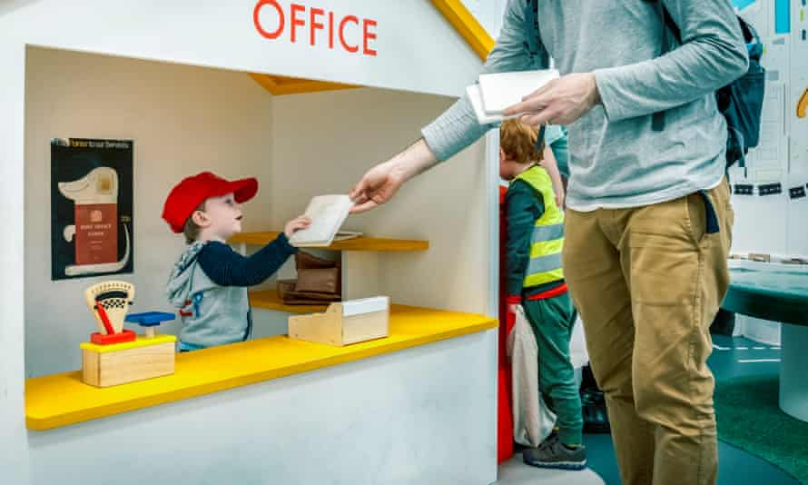 play post office for kids at the spostal museum