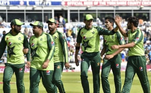 The game is finely poised as Pakistan prepare to bat.