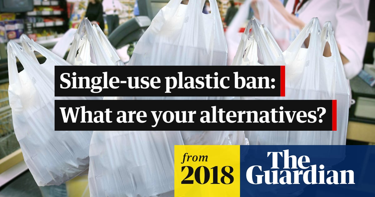 Plastic bag ban: What are the alternatives? – video | Environment