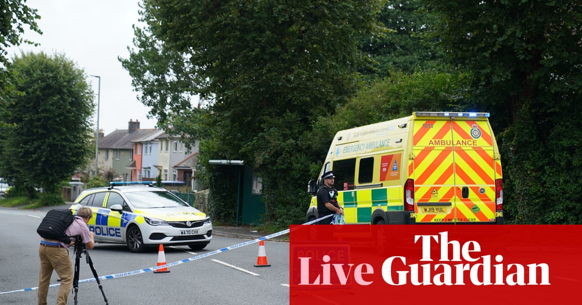 Plymouth shooting: police confirm 'very young girl' among five killed by gunman – latest updates