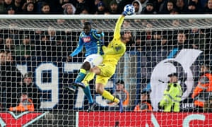 Alisson produced several good saves to help Liverpool progress to the last 16 at Napoli's expense.