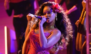 Count me out … Rihanna declined to perform at the Super Bowl half-time show.