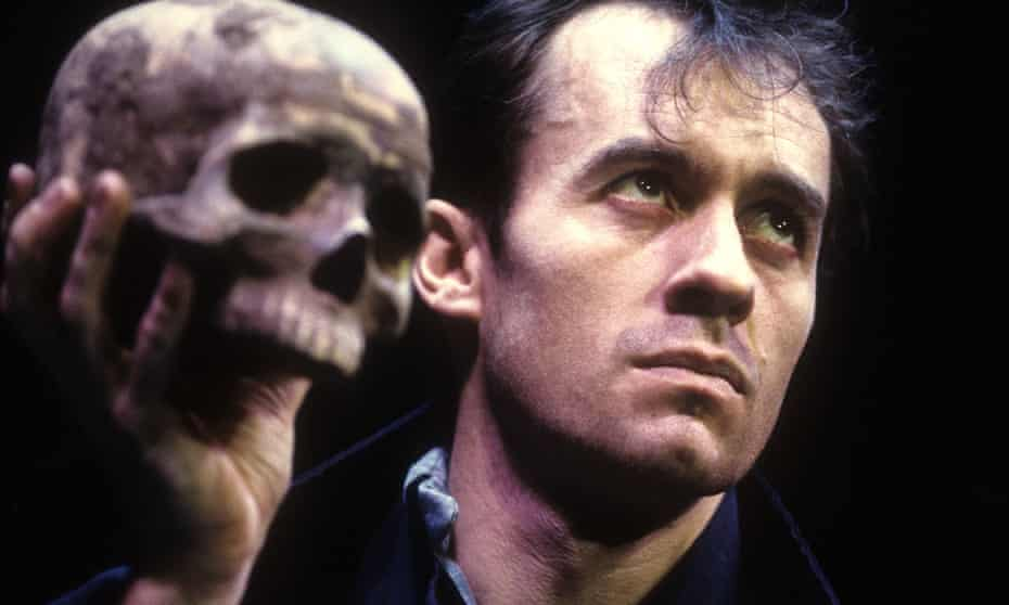 Stephen Dillane as Hamlet at the Gielgud theatre, London, in 1994.